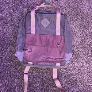 Target square backpack with front pocket